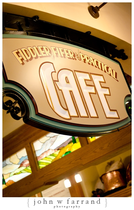 Fiddler, Fifer, and Practical Cafe - Starbucks - Buena Vista Street