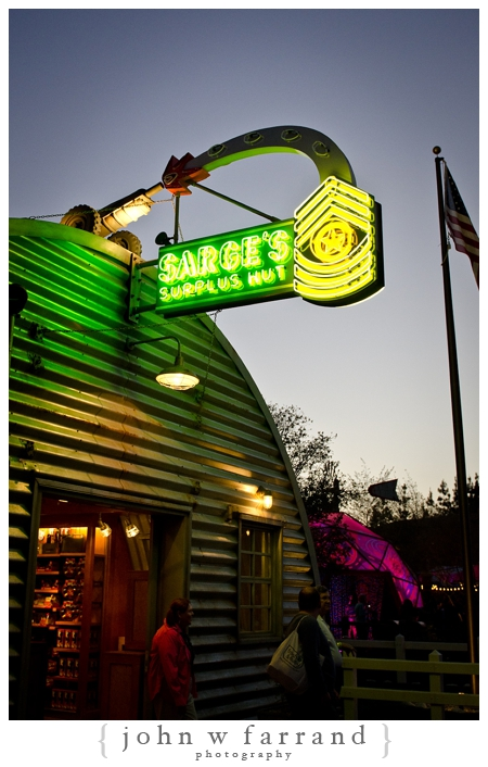 Sarge's Surplus Hut - Cars Land