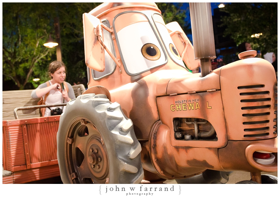 Mater's Junkyard Jamboree - Cars Land