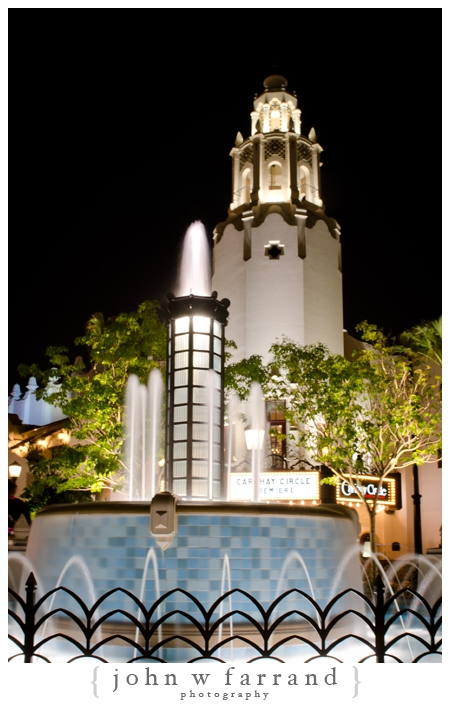 Carthay Circle Theatre at Night - Buena Vista Street