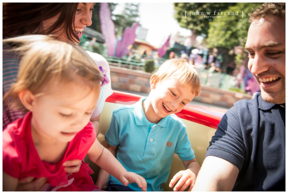 Disneyland Family Photographer - Getting dizzy on the Tea Cups.  I was at least.